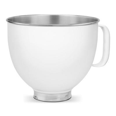 KitchenAid 5qt White Colorfast Finish Stainless Steel Bowl - KSM5SS