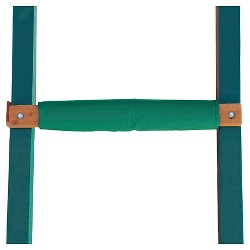 """Gorilla Playsets 5x5"""" Safety Pad Swing Set Accessory  - Green"""