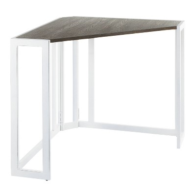 Roman Industrial Corner Desk - LumiSource