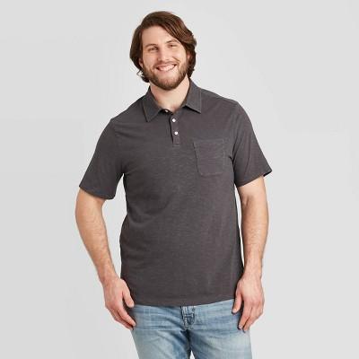 Men's Big & Tall Standard Fit Short Sleeve Polo Jersey Shirt - Goodfellow & Co™