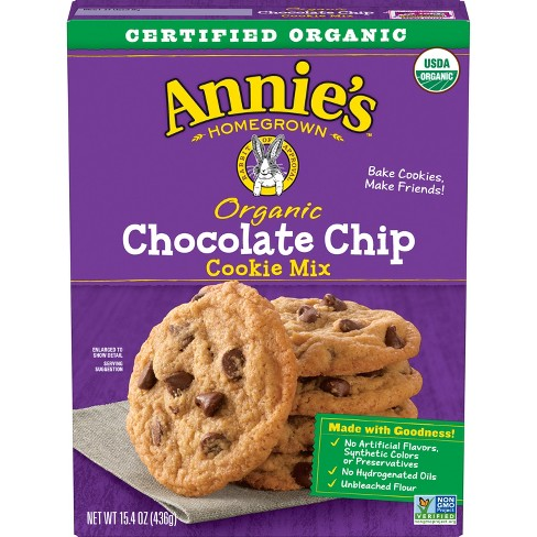 Annie's Organic Chocolate Chip Cookie Mix - 15.4oz - image 1 of 3