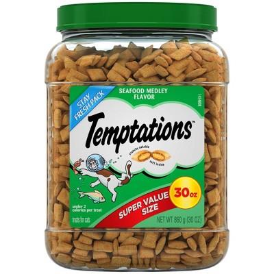 Temptations Seafood Medley Cat Treats - 30 oz