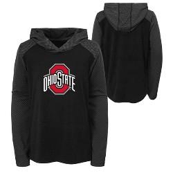 NCAA Ohio State Buckeyes Boys' Long Sleeve Lightweight Hoodie
