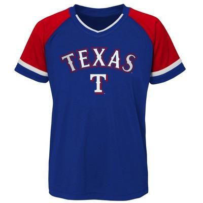 MLB Texas Rangers Boys' Pullover Jersey