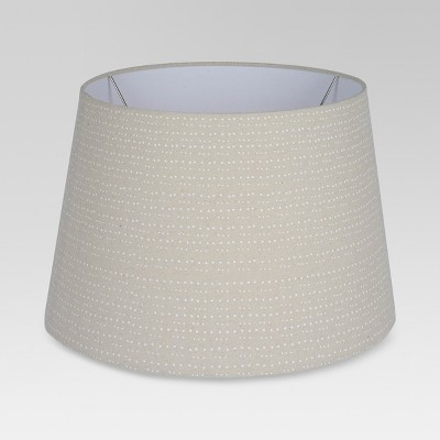 Printed Drum Small Lamp Shade Tan - Threshold™