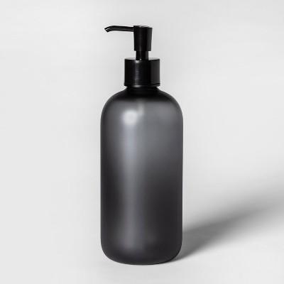 Oversized Plastic Soap/lotion Dispenser Black - Room Essentials™