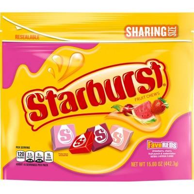Starburst FaveREDs Sharing Size Fruit Chews - 15.6oz