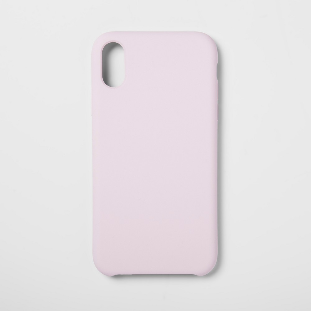heyday Apple iPhone XR Silicone Case - Pink