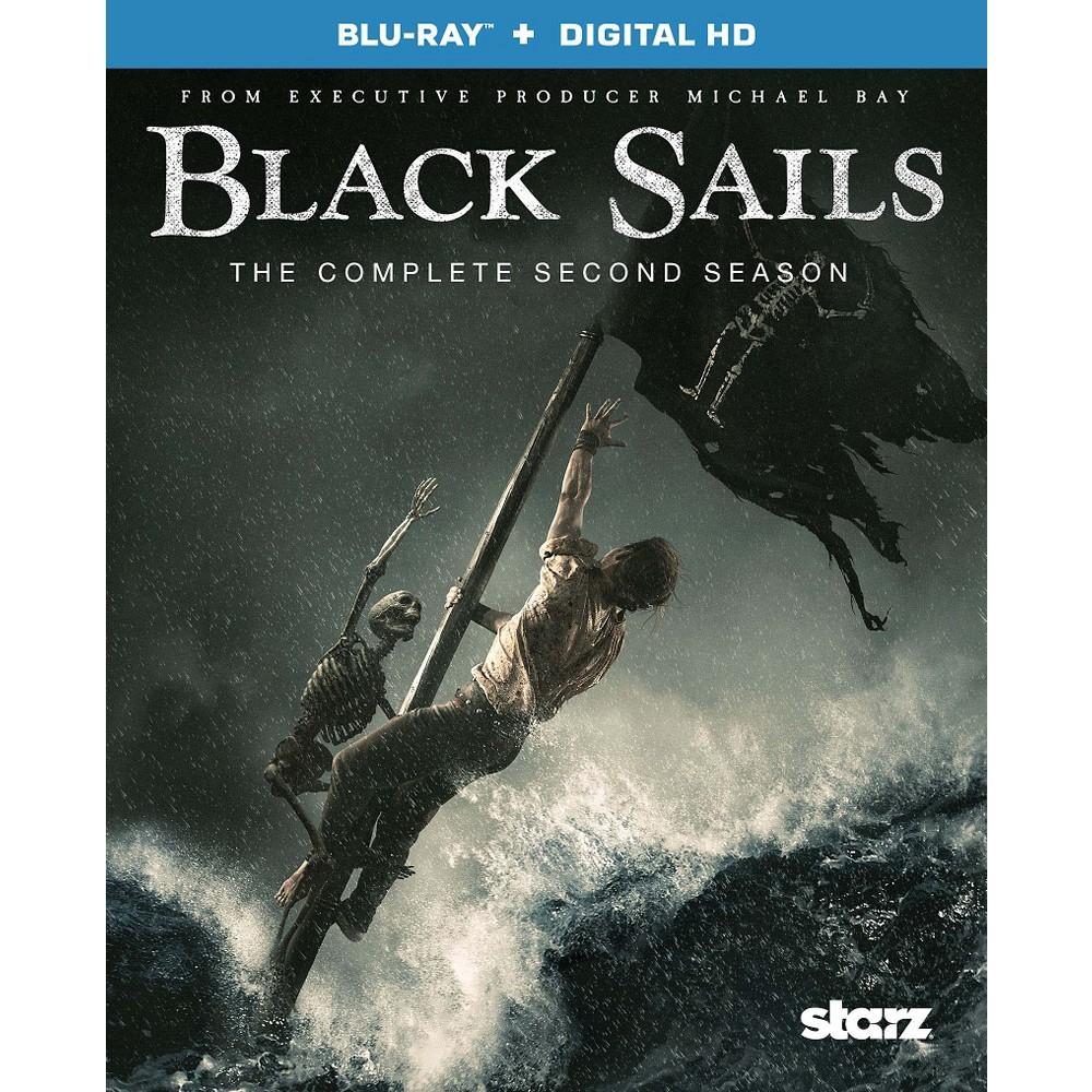Black Sails The Complete Second Season Blu Ray Digital