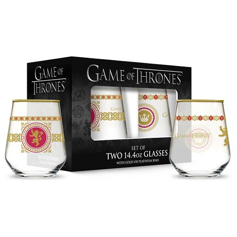 Drinkware Set Game of Thrones Small Goblet Light Clear - image 1 of 1