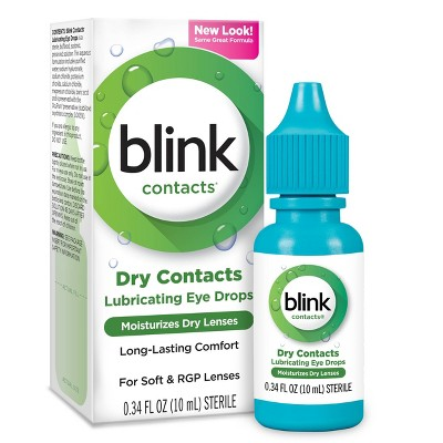 Blink Eye Drops for Contact Lenses - 0.34 fl oz