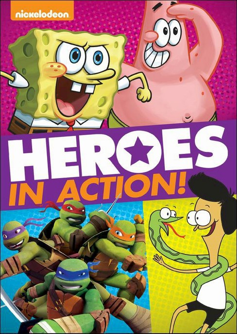Nickelodeon:Heroes in action (DVD) - image 1 of 1