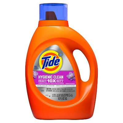 Tide Hygienic Clean Spring Meadow Liquid Laundry Detergent - 92 fl oz