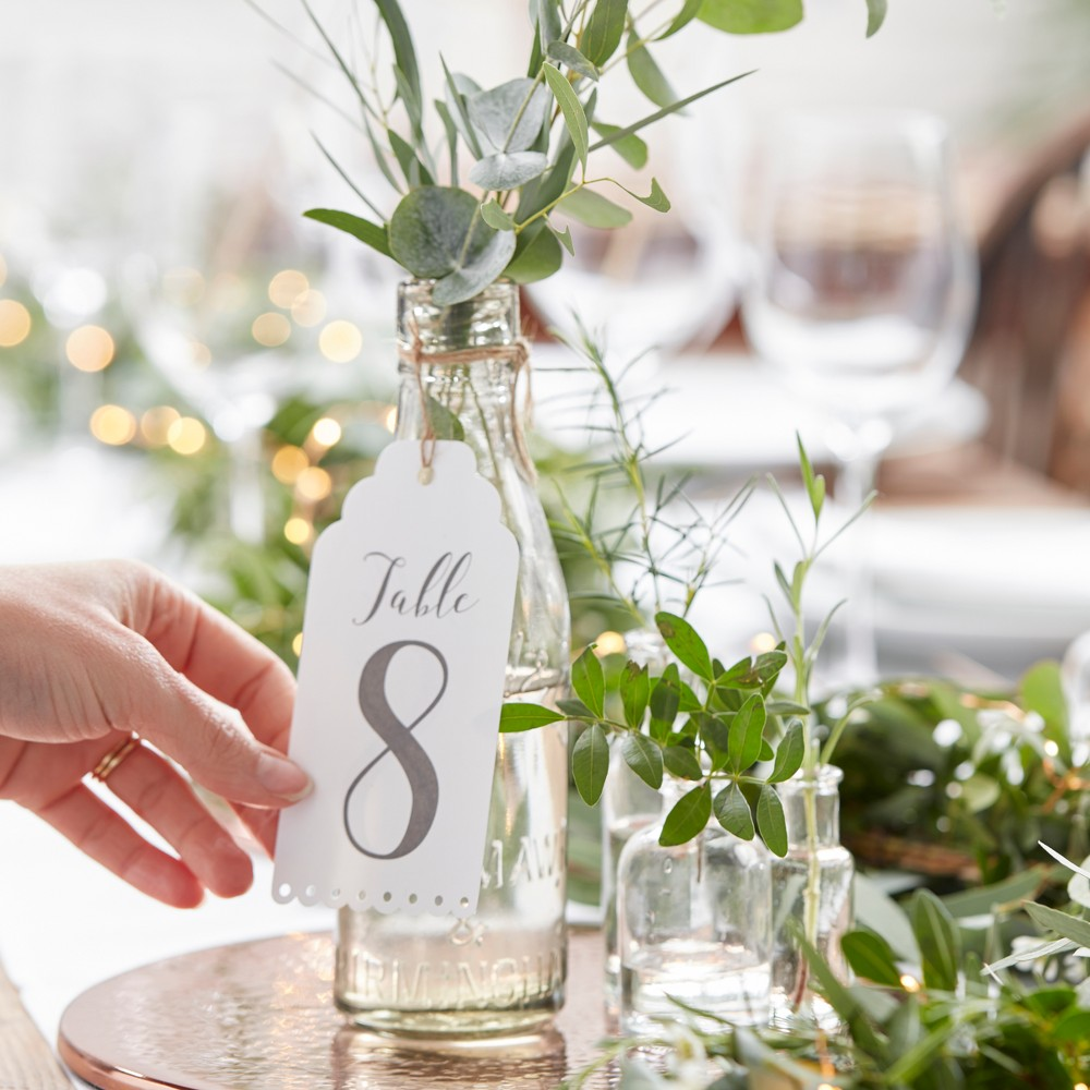 12ct 34 1 12 34 Table Numbers