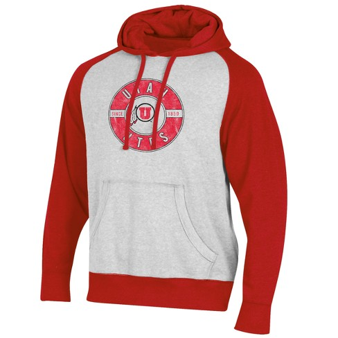 Utah Utes Men's Varsity White/Lightweight Hood - image 1 of 1