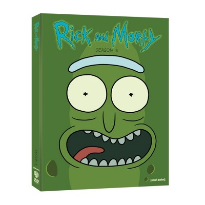 Rick and Morty: S3 (DVD)