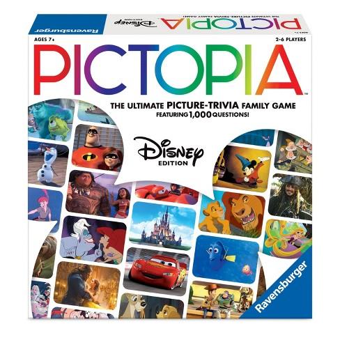 Disney Pictopia Family Picture-Trivia Game - image 1 of 4