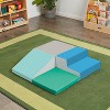 ECR4Kids SoftZone Junior Foam Corner Climber - Indoor Active Play for Babies and Toddlers - image 4 of 4