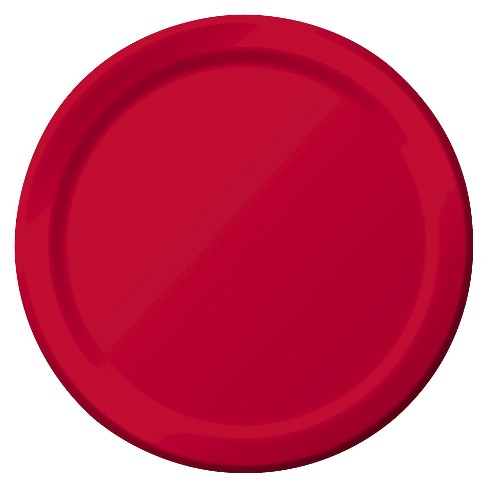 "Snack Plate Bulk Red 7"" 60Ct - Spritz™ - image 1 of 1"