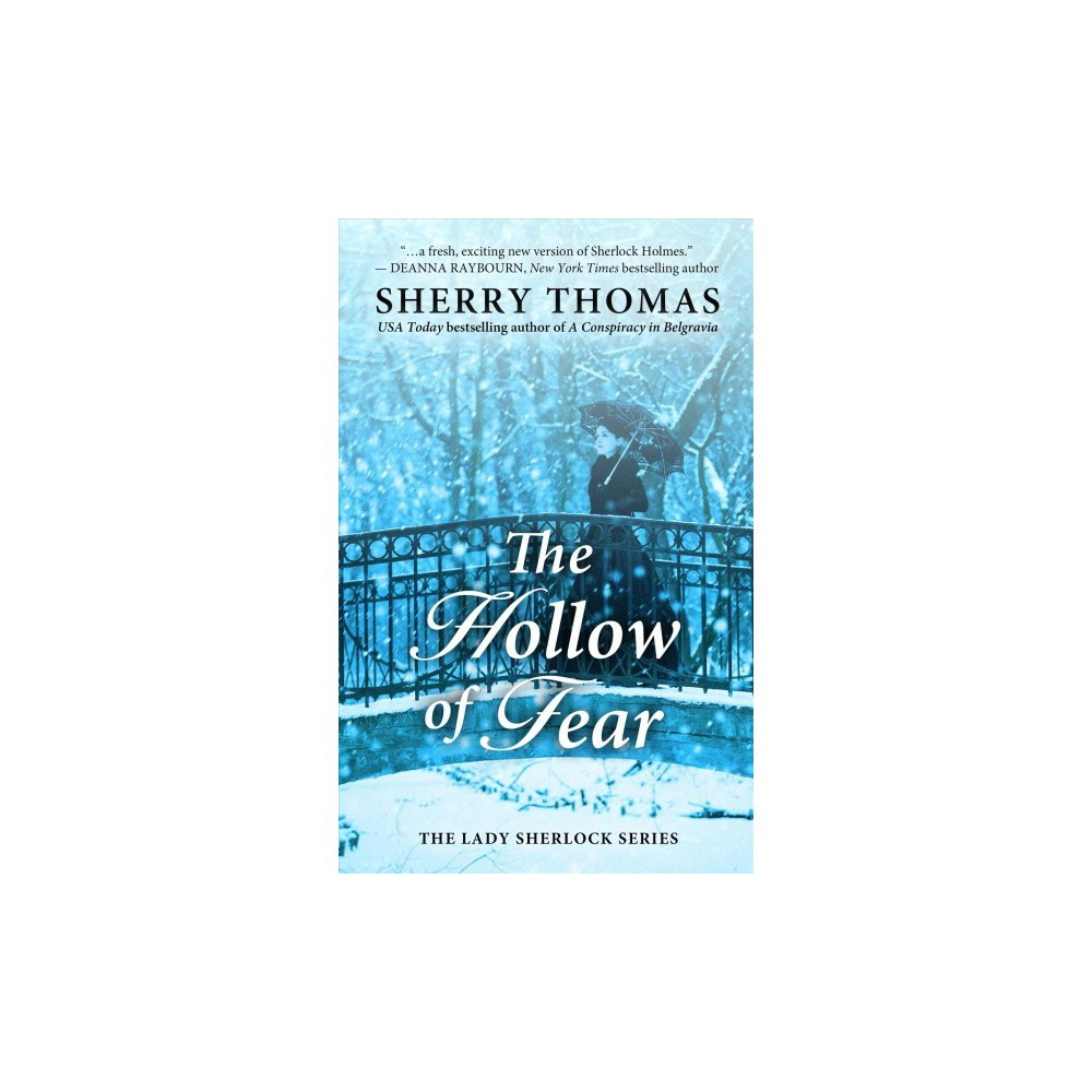 Hollow of Fear - Lrg (Thorndike Press Large Print Core Series) by Sherry Thomas (Hardcover)