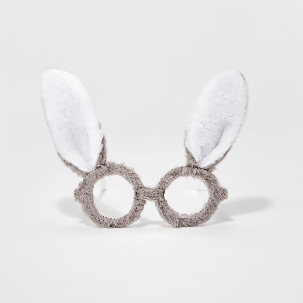 Toddler Girls' Furry Bunny Glasses - Cat & Jack Gray