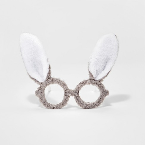 Toddler Girls' Furry Bunny Glasses - Cat & Jack™ Gray - image 1 of 1