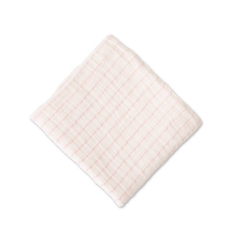 Red Rover Cotton Muslin Single Swaddle Blanket - image 1 of 4