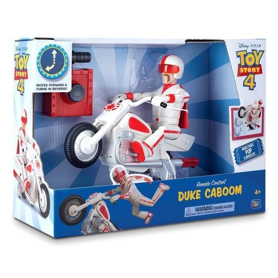 Disney Pixar Toy Story 4 Remote Control RC Duke Caboom image number null