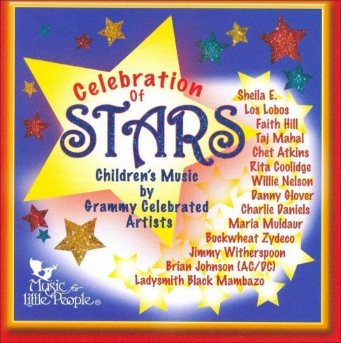 Various - Celebration of stars:Children's music (CD) - image 1 of 1