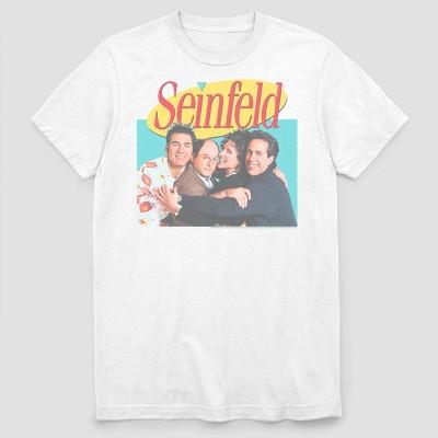Men's FOX Seinfeld Group Short Sleeve Graphic Crewneck T-Shirt - White