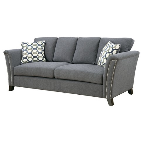 IoHomes Jocelyn Modern Style Sofa Gray : Target