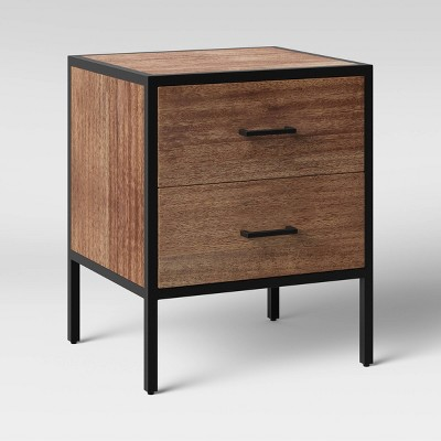 Hilltop Nightstand with Drawers Brown - Project 62™