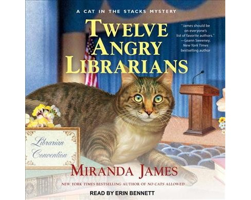 Twelve Angry Librarians (MP3-CD) (Miranda James) - image 1 of 1