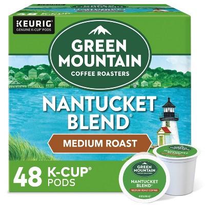 Green Mountain Coffee Nantucket Blend Keurig K-Cup Coffee Pods - Medium Roast - 48ct