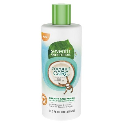 Seventh Generation™ Coconut Care Creamy Body Wash - 10.5oz
