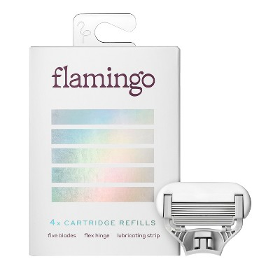 Flamingo Women's Razor Blades - 4ct