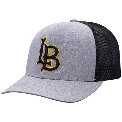 NCAA Long Beach State 49ers Men's Gray Chambray with Hard Mesh Snapback Hat