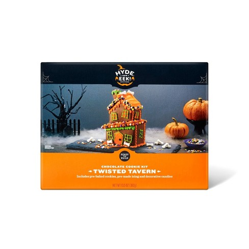 Halloween Twisted Tavern Chocolate House Cookie Kit - 13.5oz - Hyde & EEK! Boutique™ - image 1 of 4