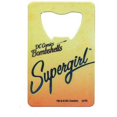 Adventure Trading Inc DC Comics Bombshells Supergirl Credit Card Bottle Opener