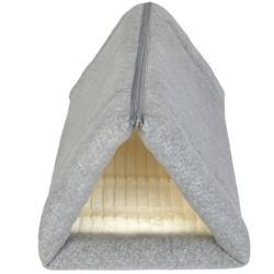 Tunnel Cave Catatonic Fleece Cat Bed - S - Boots & Barkley™
