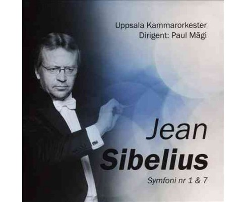Uppsala chamber orch - Sibelius:Symphony nos 1 & 7 (CD) - image 1 of 1