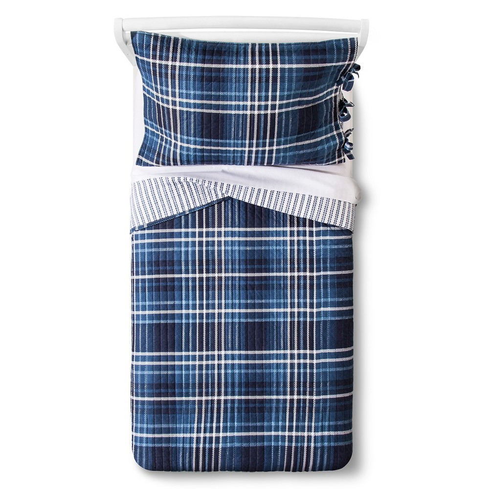 Ryder Quilt Set Toddler Navy - Sheringham Road