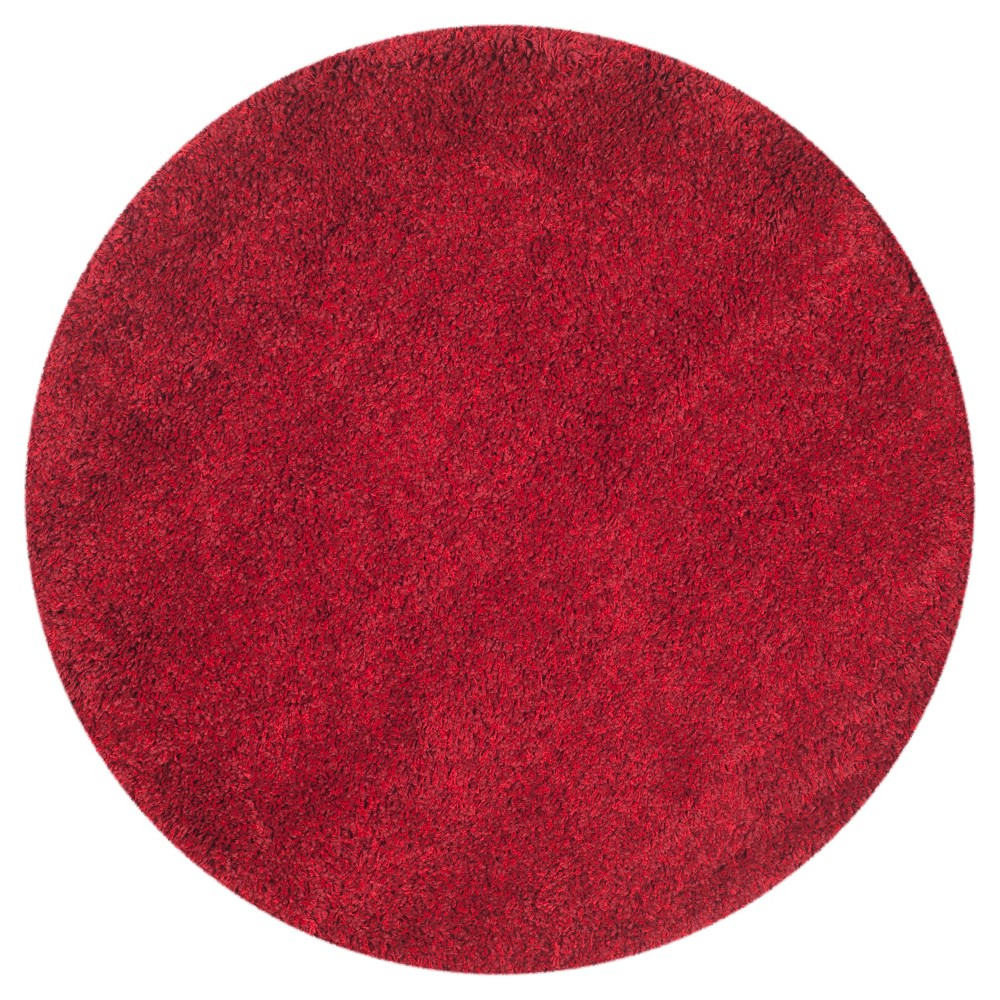 Quincy Rug - Red (4' Round) - Safavieh