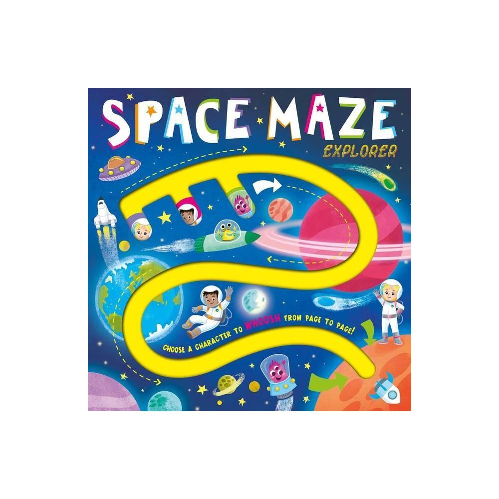 Space Maze Explorer By Igloobooks Board Book