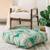 """23""""x23"""" Holli Zollinger Jungle Palm Tropica Floor Pillow Green - Deny Designs - image 2 of 2"""