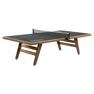 Hall of Games Official Size Wood Table Tennis Table - Black