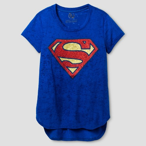400414008e0 Girls  Superman Short Sleeve T-Shirt   Target