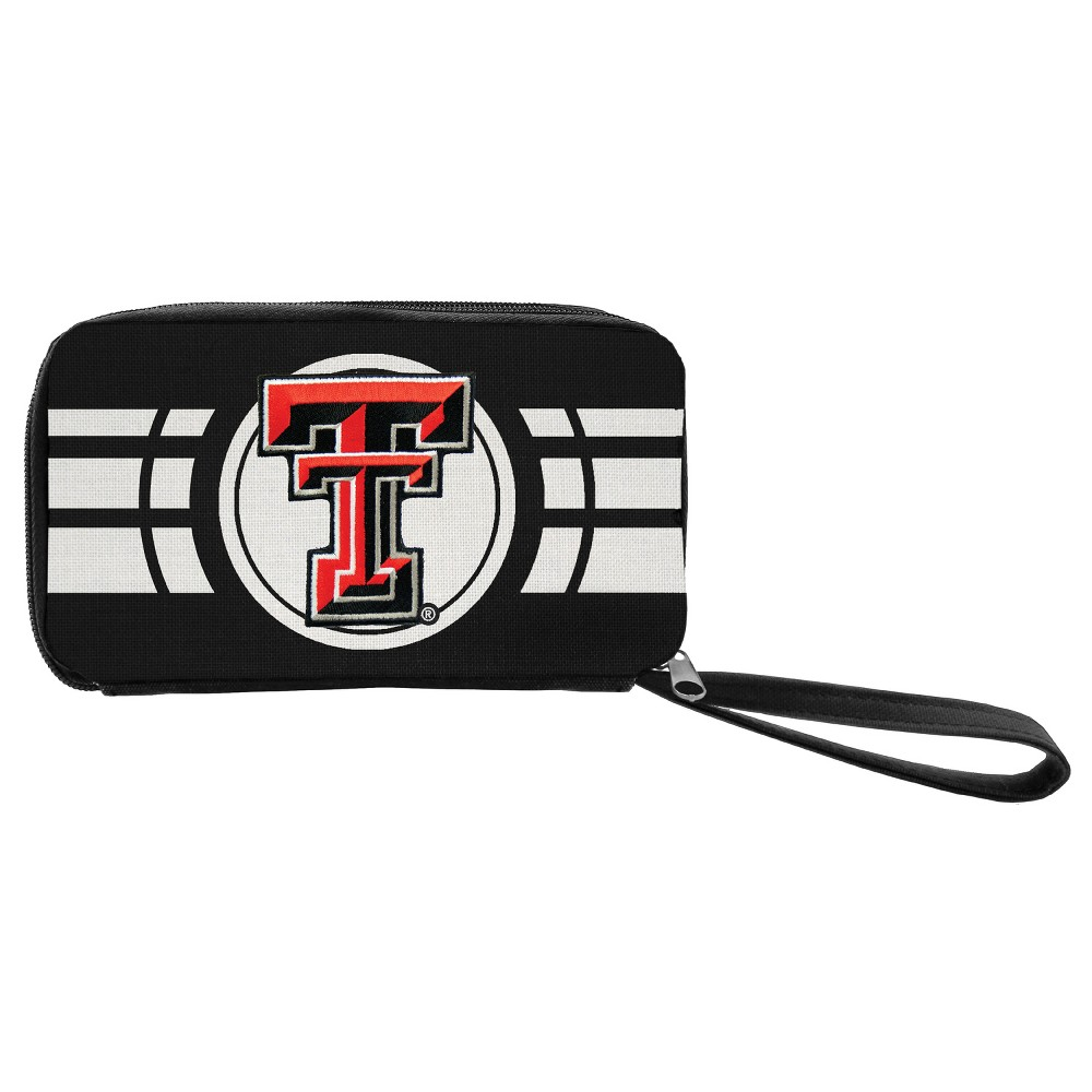 NCAA Texas Tech Red Raiders Ripple Zip Wallet, Adult Unisex