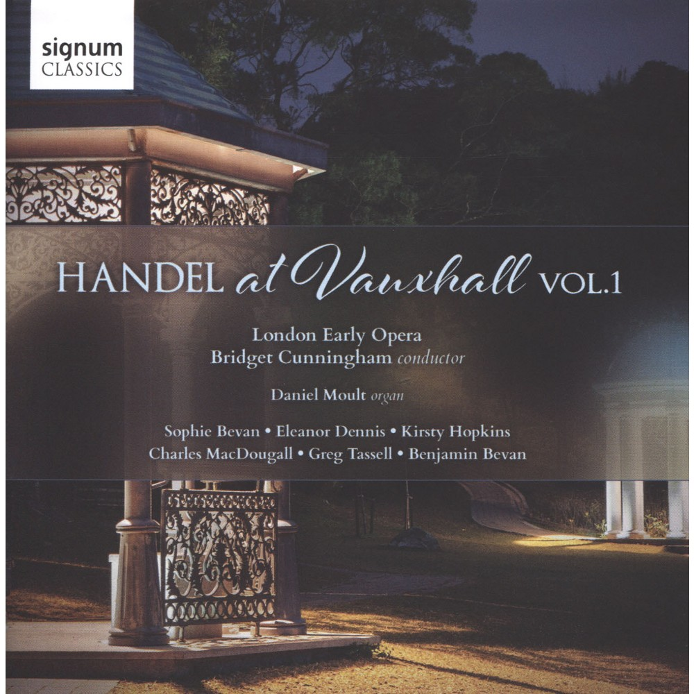 Bridget Cunningham - Handel At Vauxhaull:Vol 1 (CD)
