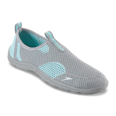 Speedo Adult Women's Surfknit Water Shoes - Grey/Blue (Large)